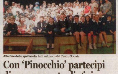 Valenza, 30 maggio 2014, Le avventure di Pinocchio al Teatro di Valenza