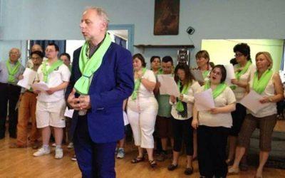 Alessandria 8 giugno 2014 – Il Coro dell' Associazione Centro Down Alessandria