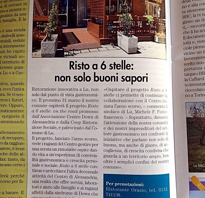 """A Lu Monferrato con la """"Risto"""""""