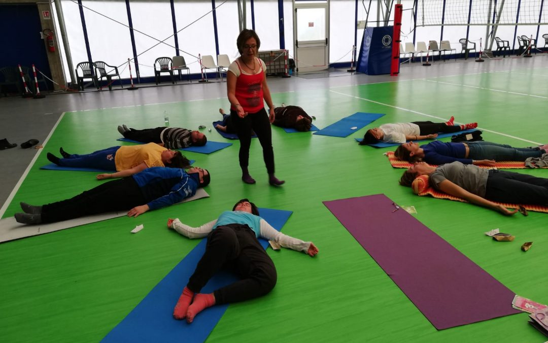 Lezioni di yoga agli Orti in Città