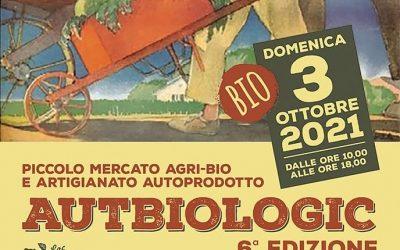 Mercatino Autbiologic, domenica 3 ottobre 2021