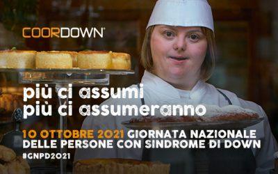 Messaggi al cioccolato per la Giornata nazionale persone con sindrome di Down